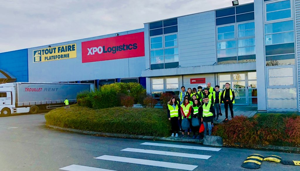 [LYCEE ABBAYE] 9-11-2018 : Visite chez XPO Logistics pour la 3PREPA PRO