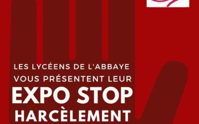 "Exposition ""Stop Harcèlement"""