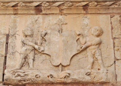 Armes de Jean de Longueville, Maîtrise-Notre-Dame