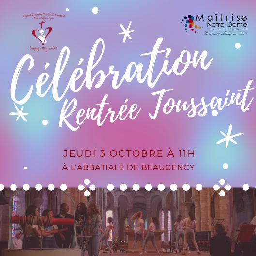 Photos de la célébration de Rentrée-Toussaint à Beaugency
