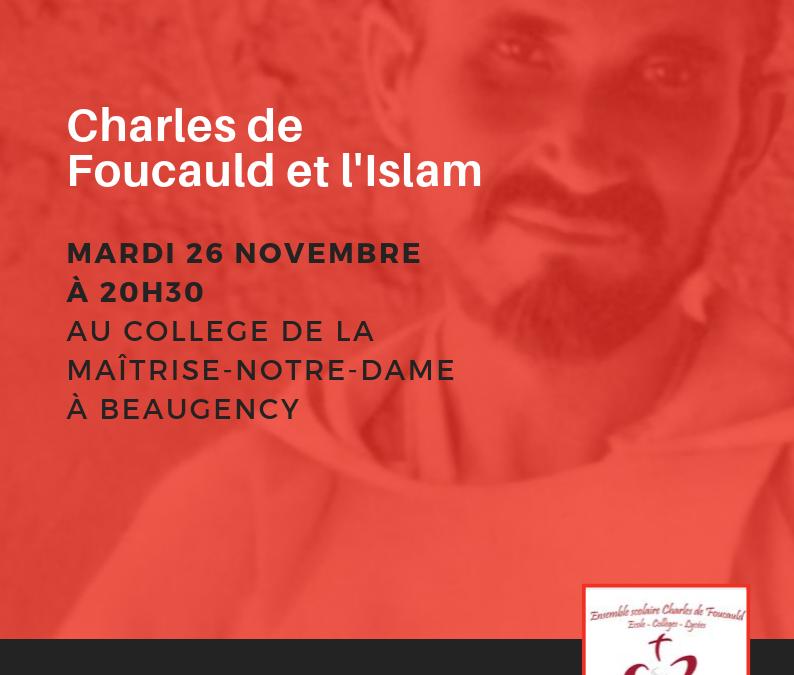 Invitation exceptionnelle à notre soirée Charles de Foucauld !
