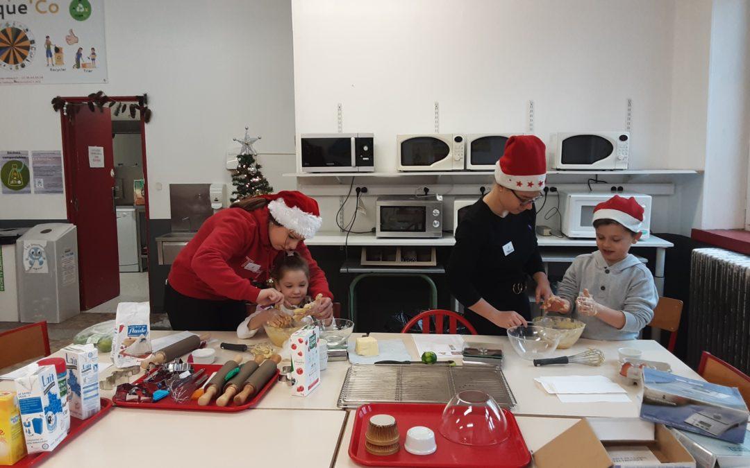 Les Terminales ASSP proposent des activités de Noël aux Enfants